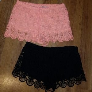 Lace Shorts Bundle